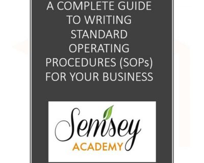 A Complete Guide To Writing Standard Operating Procedure (SOP) For Your Business.